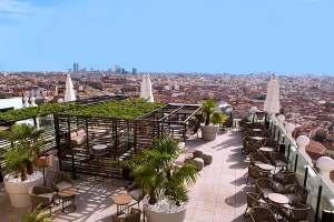 Terraza del hotel Riu, Edificio España, Terraza 360º