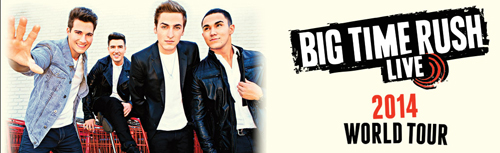 big time rush gira 2014