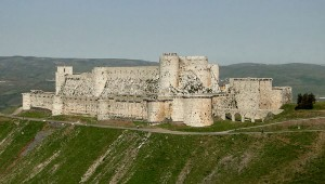 Vista Aérea do Castelo (Fonte Wikicommons/Autor: Bernard Gagnon)