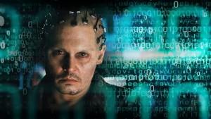 A consciência fora do cérebro foi mostrada no filme estrelado por Johnny Depp. Fonte: http://www.reellifewithjane.com/2014/04/movie-review-transcendence/