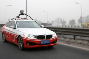 Na China a concorrente do Google, Baidu, também está testando a tecnologia. Com desenvolvimento próprio.