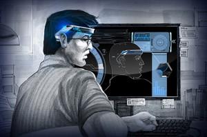 Representação do uso do dispositivo, que mostra resultados promissores no aprendizado. Fonte: http://www.neuroscientistnews.com/research-news/researchers-demonstrates-potential-enhance-human-intellects-existing-capacity-learn