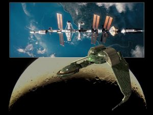 naves fictícias propulsão iônica