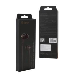 Auriculares Kintone Series 3.5mm NEGRO