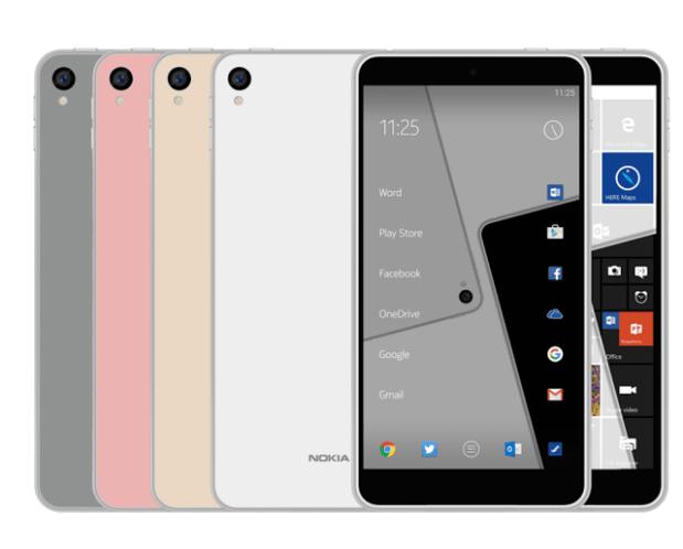 Первые подробности о смартфонах Nokia 7 и 8