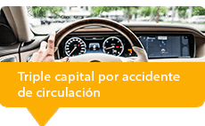 seguros de vida accidente circulación