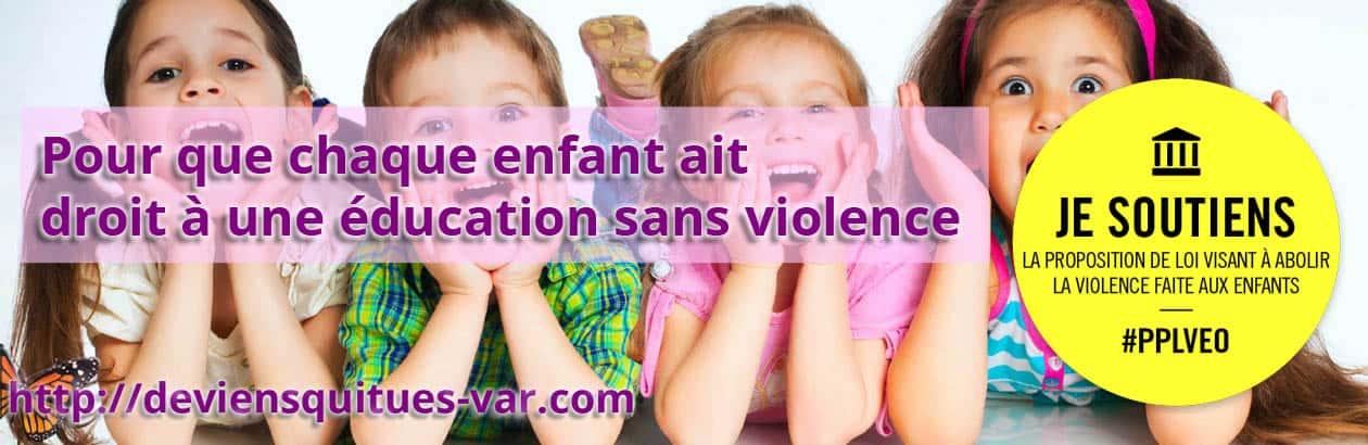 éducation sans violence