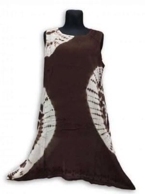 Csinos, rövid nyári ruha Indiábóli 2810 barna