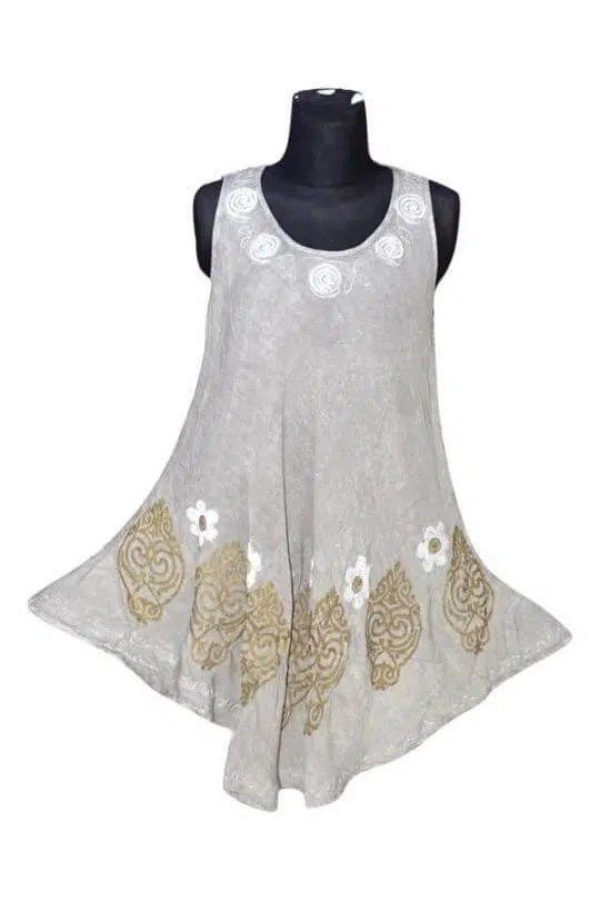 Csinos, rövid nyári ruha Indiából 17144