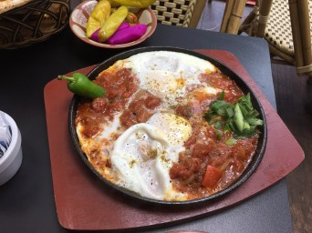 Shakshouka and Palestinian hospitality in the heart of London.