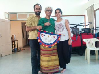 WIth inspiring co-facilitators Ravi and Radha