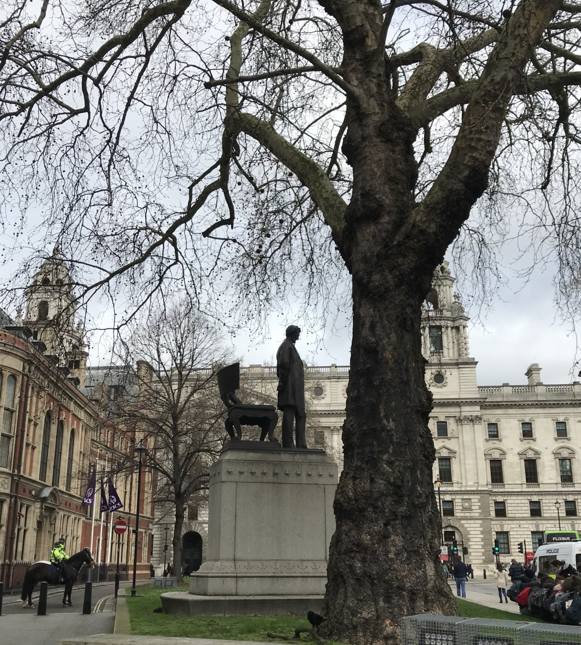 Statue of Abraham Lincoln in Parliament Square