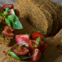 Homemade Raw Vegan Bread