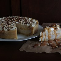 Banana Cream Pie (raw, GF, vegan)