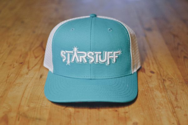 Starstuff ballcap - teal with white mesh