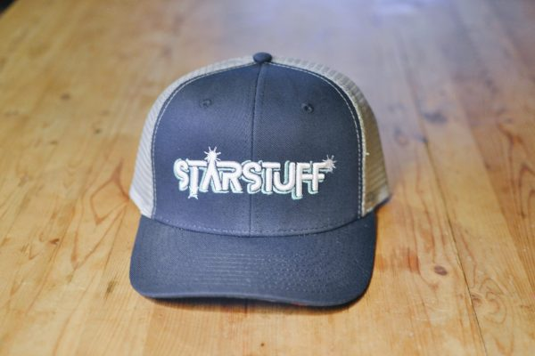 Starstuff ballcap - twilight blue with grey mesh
