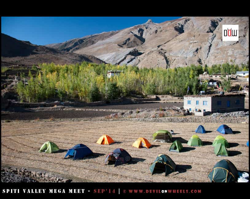 Our camps at Maneypgma village
