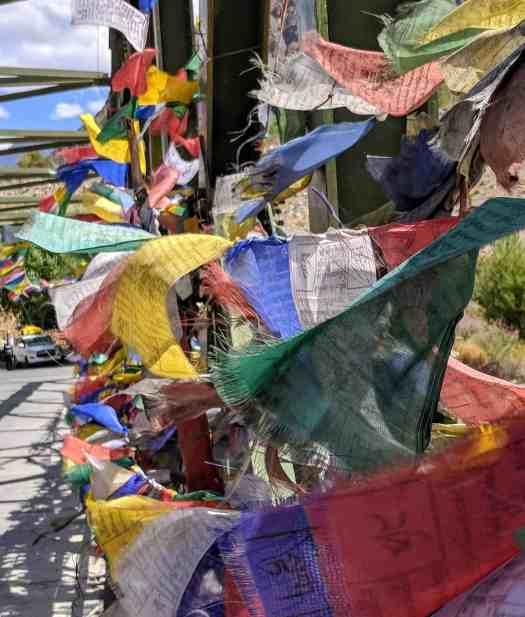 Prayer flags of beauty