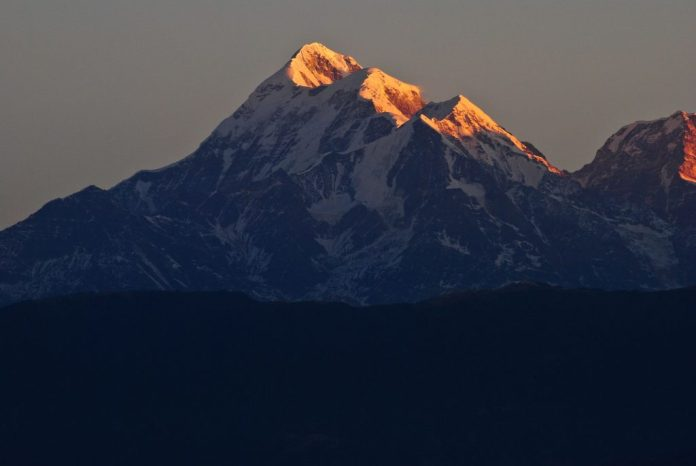 Kausani near Mukteshwar and its views