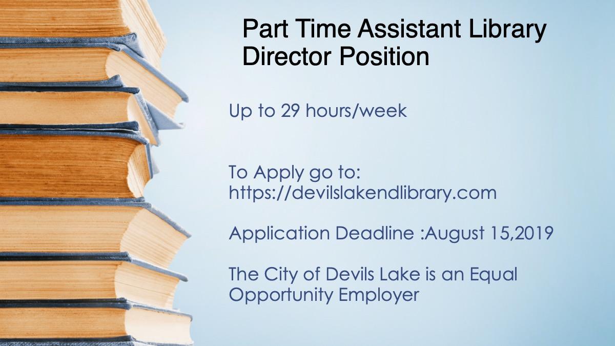 Job Opening Assistant Director