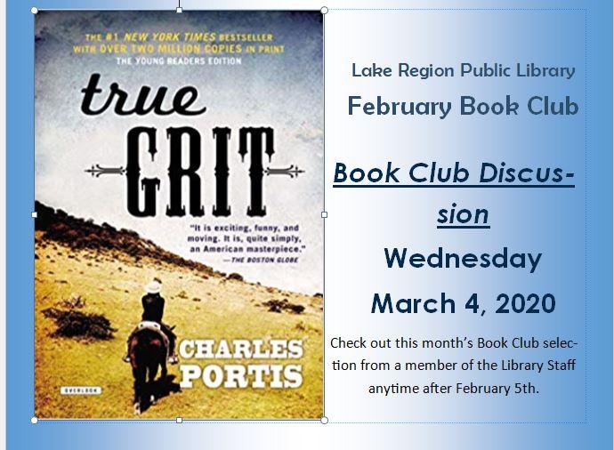 February Book Club