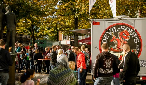 Foodtruck Market Mölln