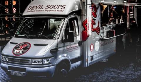 Der Devil Soups Foodtruck in Hamburg