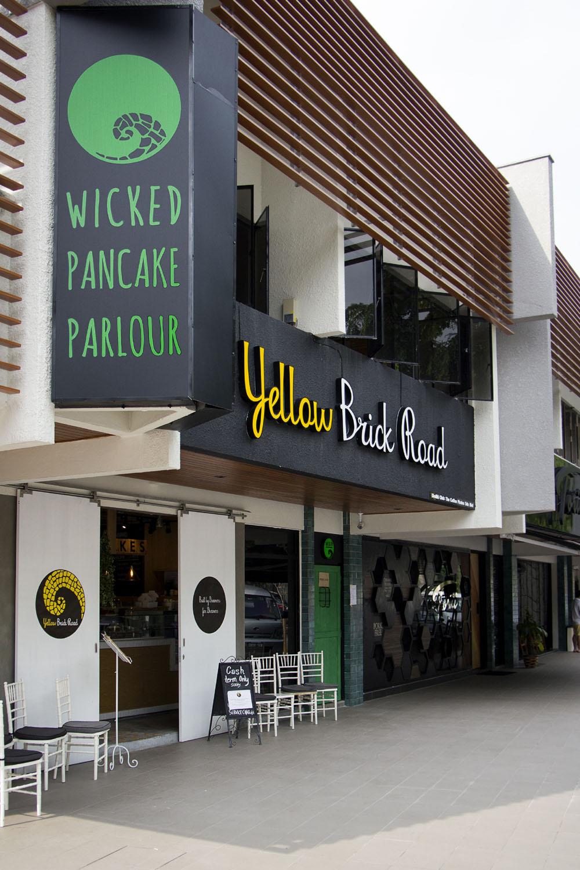 Yellow Brick Road & Wicked Pancake Parlour