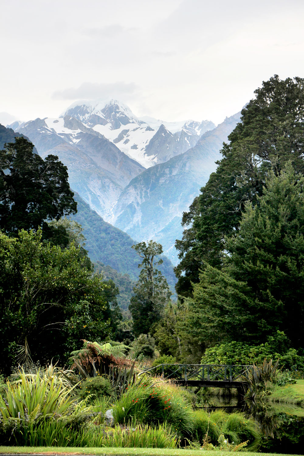 Reflection Lodge & Franz Josef Glacier, New Zealand