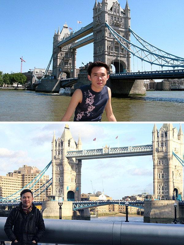 London: 2004 & 2013