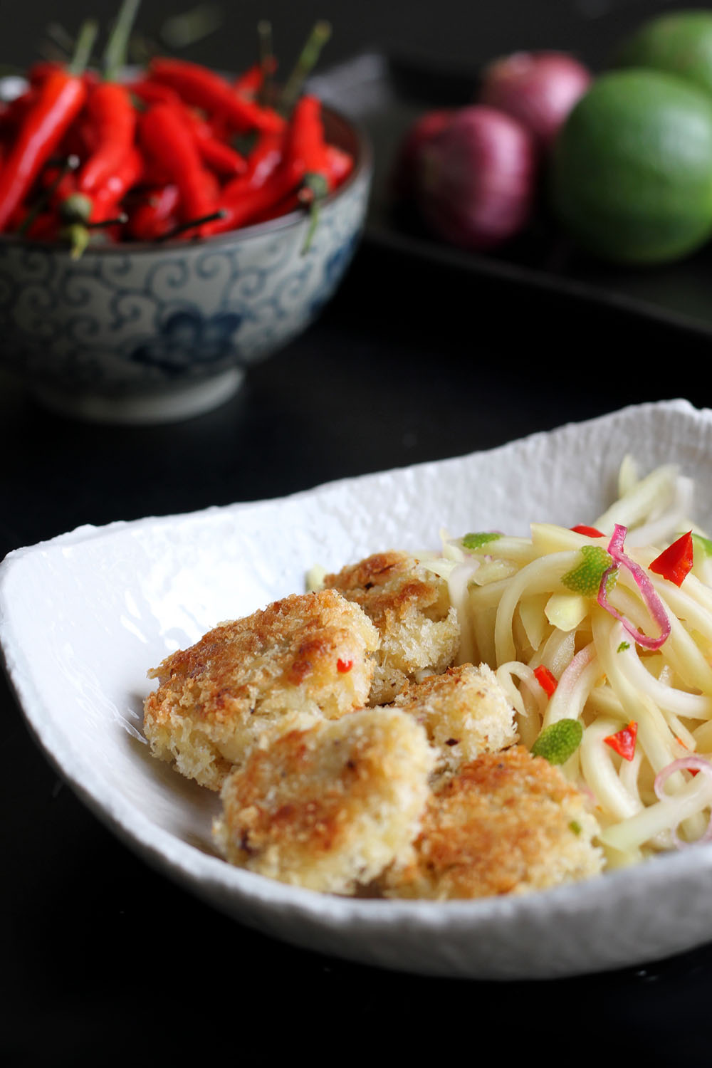 Weekend Kitchen: Crab Cakes & Mango Salad