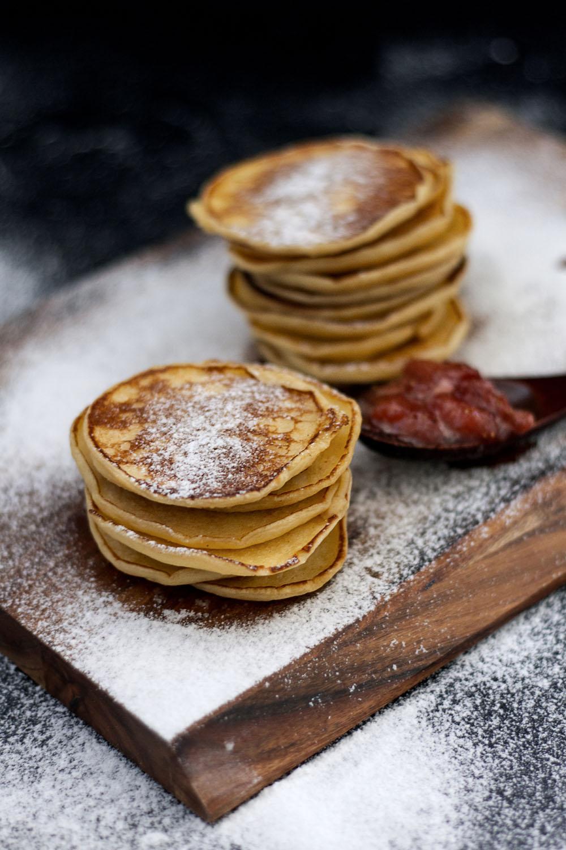 Weekend Kitchen: Christmas Pancakes