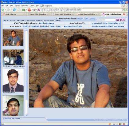Orkut Ajax Style Album
