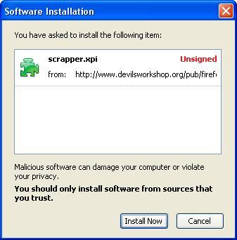 a wInstalling Addon - Installtion