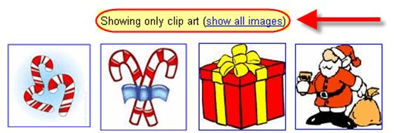 Google Image search_clip art