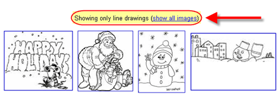Google Image search_line