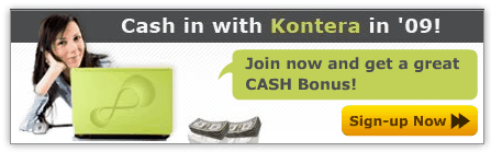 Get $25 Cash Bonus by Joining Kontera before Jan 15!