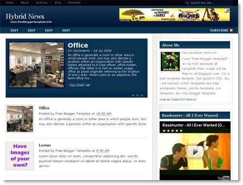 hybrid-news-blogger-template