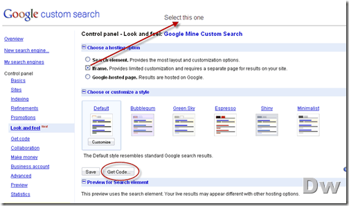 google custom search_final_code