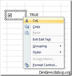 How to add Checkbox in Microsoft Excel