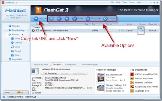 FlashGet-UI