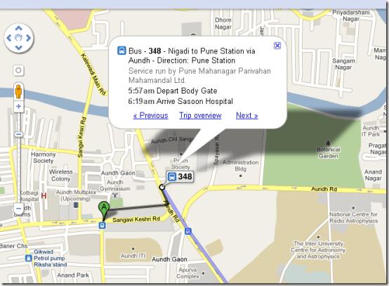 google_maps_Pune_bus_routes