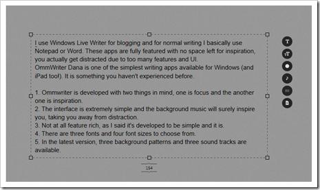 Ommwriter Dana for Windows