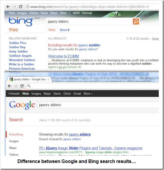 Google_Bing_Search_results