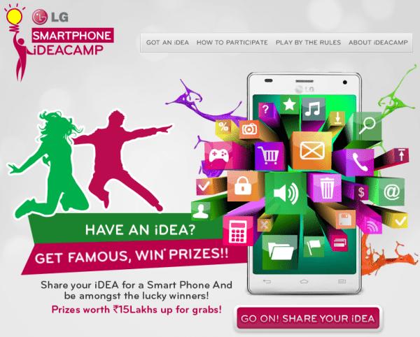 LG Smartphone iDEACAMP