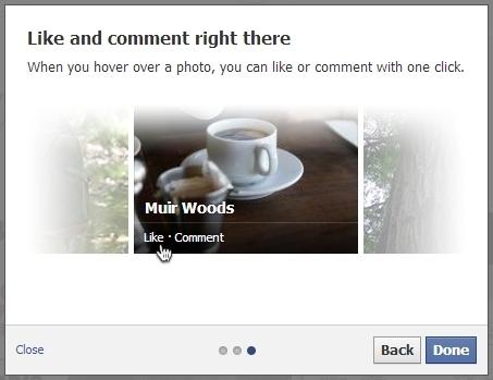 liking facebook pics