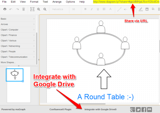 Diagram.ly - Integrate with Google Drive