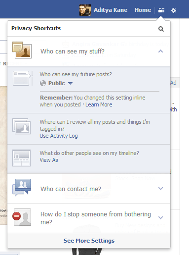Facebook's Simplified Privacy Options