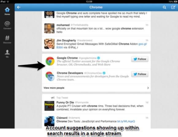 Twitter Search Single Stream