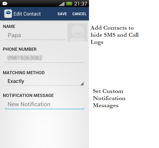 Shady Contact - Screenshot